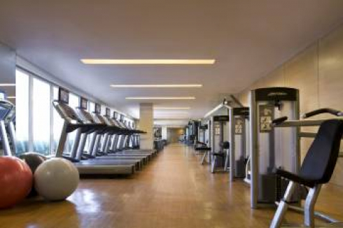 . The Health Club, which has 62 women's lockers and 64 men's lockers, is a complete universal fitnes